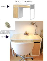 Ikea Besta Burs Desk Black by Decorating Chic Ikea Micke Desk In White With Drawers For Home