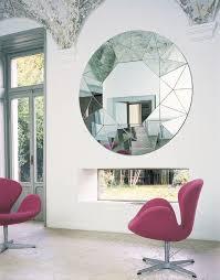 moderner spiegel für wohnzimmer dekoration ideen