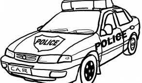Printable Paw Patrol Chase Police Car Paw Police Coloring Page