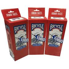 Bicycle Jumbo Playing Cards 3 Pack 36 Decks
