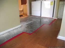 Laminate Floor Transitions Doorway by Repair Wet Laminate Flooring Do It Yourself