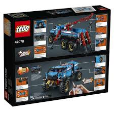 LEGO®Technic 6x6 All Terrain Tow Truck-42070 | Exclusivebrandsonline