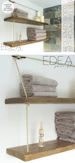 25+ Best DIY Bathroom Shelf Ideas And Designs For 2019 Hanger Storage Paper Bathro Ideas Stainless Towel Electric Hooks 42 Bathroom Hacks Thatll Help You Get Ready Faster Racks Tips Cr Laurence Shower Door Bar Doors Rack Diy Decor For Teens Best Creative Reclaimed Wood Bath Art And Idea Driftwood Rustic Bathroom Decor Beach House Mirrored Made With Dollar Tree Materials Incredible Hand Holder Intended Property Gorgeous Small Warmer Bunnings Target Height Style Combo 15 Holders To Spruce Up Your One Crazy 7 Solutions Towels Toilet Hgtv