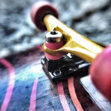 99 Y Trucks Close Up Of Levelup Beta Bushings On Y Trucks Fingerboards