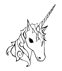 28 Collection Of Unicorn Face Coloring Pages