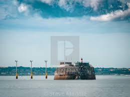 100 Spitbank Fort Or Spitsand Located In The Solent