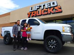 New Customers With Their Custom Chevy From Lifted Trucks ...