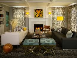 Black Leather Sofa Decorating Ideas by Simple And Neat Decorating Ideas Using Round Black Glass Tables
