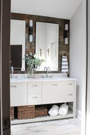 Guest Bathroom Decor Ideas Pinterest by Best 25 Rustic Modern Bathrooms Ideas On Pinterest White Sink