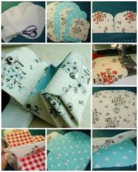 DIY Cute Fabric Folded Purse