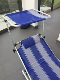Camping Chair With Footrest Australia by Folding Deck Pool Camping Chair Bed Recliner Lounge Beach Garden