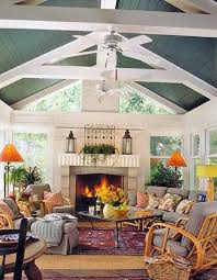 Paint Colors Living Room Vaulted Ceiling by Best 25 Painted Wood Ceiling Ideas On Pinterest Painted Ceiling