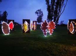 völlig entblättert lichtimpressionen im kurpark bad