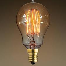 vintage antique light bulb a15 candelabra base