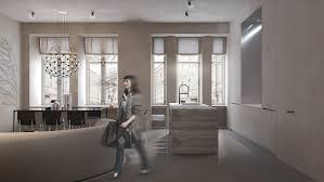 100 Urban Retreat Furniture Darya Girina Interior DesignVisualizations Minimalist
