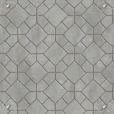 Concrete Mixed Blocks Outdoor Flooring Textures Seamless
