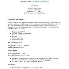 Fresh Skills For Sales Associate Resume   Atclgrain