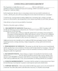 Unique Consultancy Agreement Template Images Free Uk Consulting Download