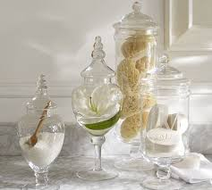 Pottery Barn Sea Glass Bathroom Accessories by Gorgeous Apothecary Jars Pb Classic Glass Apothecary Jars