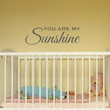 Wall Mural Decals Amazon by Amazon Com You Are My Sunshine Wall Decal Kids Rooms Nursery