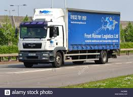 Blue Lorries Stock Photos & Blue Lorries Stock Images - Alamy
