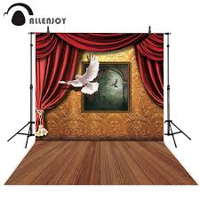 Allenjoy Photography Backdrop Vintage Window Pigeon Wood Floor Backgrounds Photobooth Photo Studio Newborn Original Design