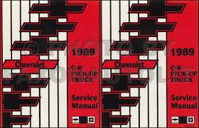 100 89 Chevy Truck 19 CK Pickup Wiring Diagram Manual Original
