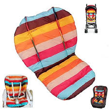 Twoworld Baby Stroller/Car/High Chair Seat Cushion Liner Mat Pad Cover  Protector Rainbow Striped Water Resistant Graco Minnie Mouse High Chair Cover Chairs Ideas High Chair Cover Baby Accessory Cotton Replacement Pattern For Nautical Cute Eddie Bauer Lovely Blossom Unboxing And Setup Ipirations Wooden Pads Chicco Generation Baby Amazoncom Meal Time Replacement Seat Pad Contempo Highchair Stars Pad Duo Diner Cushion Chicken Farm Seat Cushions Jocuripenetinfo