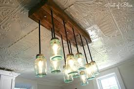 Mason Jar Light Kit Build It Chandelier From Nest Of Bliss