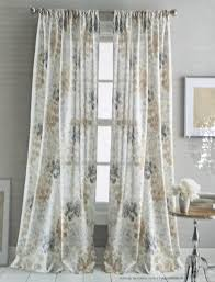 Jacobean Style Floral Curtains by Amazon Com Dkny Pair Of Window Rod Pocket Panels Curtains Drapery
