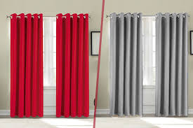 Thermal Lined Curtains Ireland by Thermal Blackout Curtains 8 Colours U0026 5 Sizes