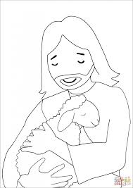Jesus Christ Lamb Coloring Page Printable Pages Click The To View Version Or Color It Online