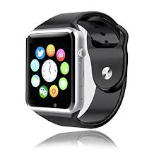 Amazon Heshi Inc Bluetooth Smart Watch with SIM Card Slot for