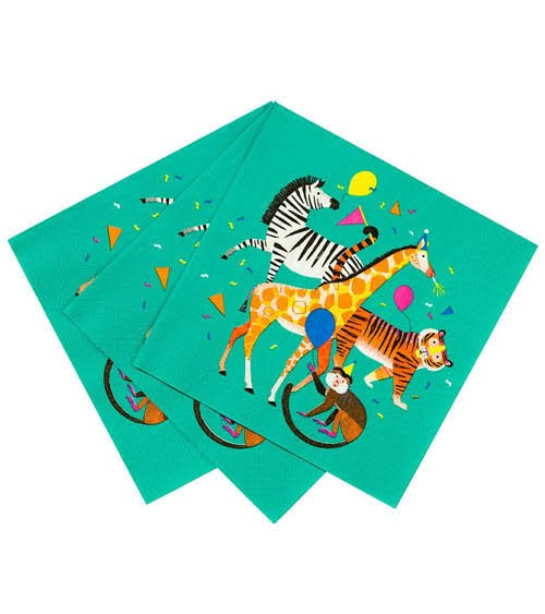 Party Animals - Paper Napkins