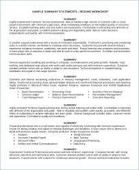 Sample Sales Resume Best Of Customer Service Resumes