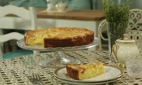 weiße schokoladen apfel tarte