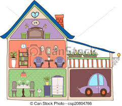 Clipart For Building Interior Design
