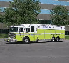 100 26 Truck Custom Heavy Rescue Fraklin TWP Fire EVI