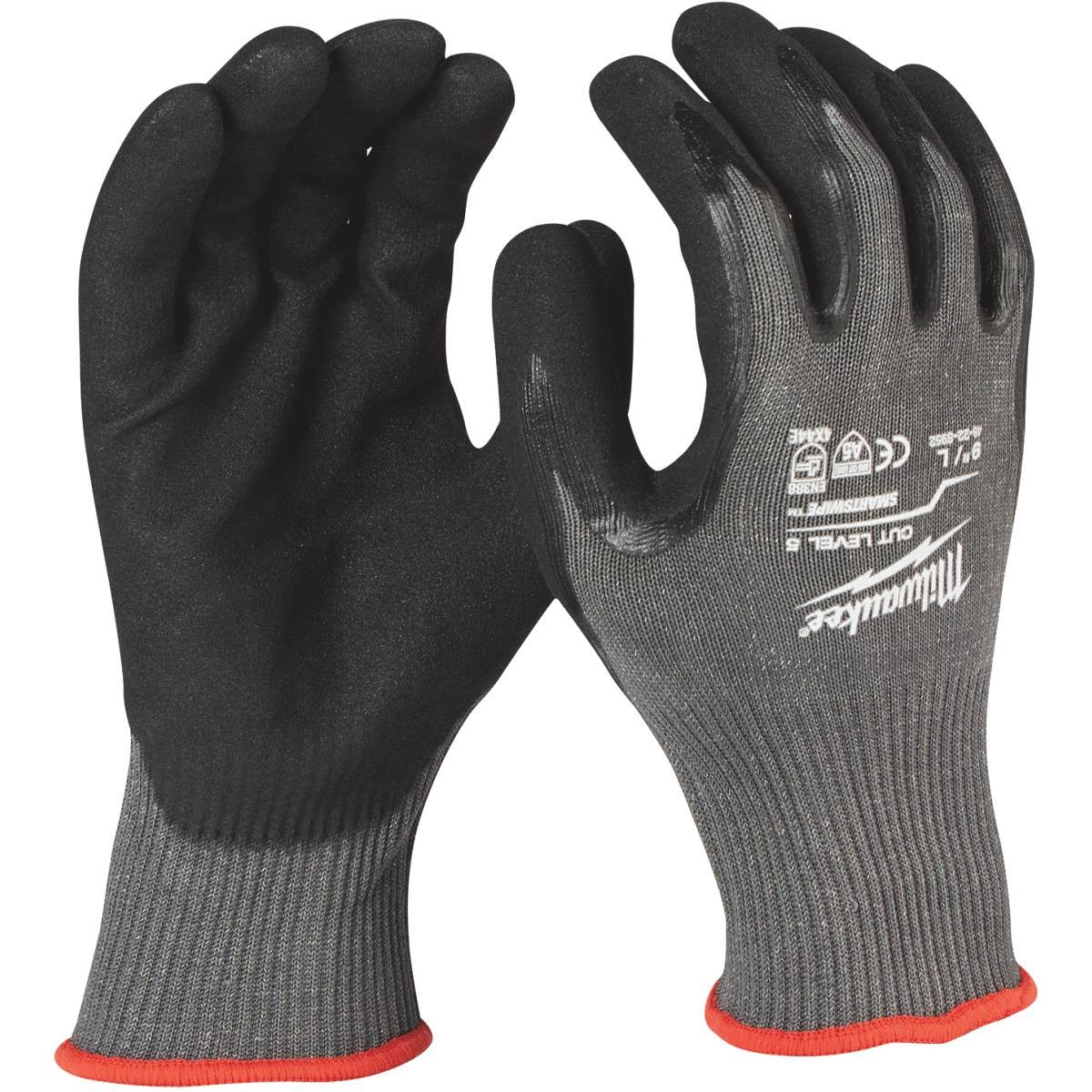 Milwaukee Large Cut Level 5 Dipped Work Gloves