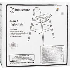 InfaSecure Dino 4 In 1 High Chair | BIG W