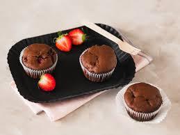 Kuchen Mit Flã Ssigem Kern Schokoladensoufflé Schneller Lava Cake Einfach Backen