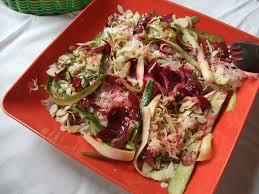 cuisiner la choucroute crue salade de choucroute crue courgette betterave etc le