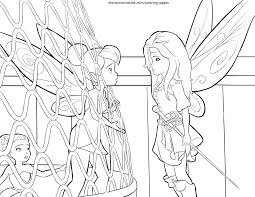 Disney Winter Fairy Colouring Pages Gekimoe 51407