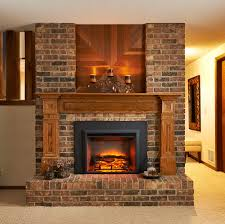 GreatCo 29 In Electric Fireplace Insert 36 Flush Mount Conversion Kit