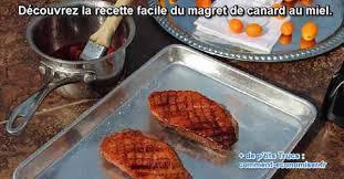 cuisiner le magret la recette facile du magret de canard au miel