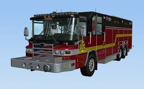 100 Truck Video 3D Model Heavy Rescue Fire Game