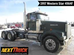 ThrowbackThursday Check Out This 1997 Western Star 4964F. View More ... Intertional Prostar Eagle Trucks Hpwwwxttruckonlinecom Rowbackthursday Check Out This 1994 Mack Ch613 View More Navistar Ships First Vocational Vehicles With 9 And 10 Liter Scr Truck Launches 124l A26 Engine Nexttruck Blog Freightliner Day Cab Hpwwwxtonlinecomtrucks Old Dominion Drives Its 15000th Off Assembly Super Cool Semi You Wont See Every 1984 Kenworth W900 Western Star Get Tough At The 2015 Work Show Employees Honor Fallen Military Heroes Through Ride For Freedom
