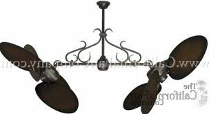 Flush Mount Dual Motor Ceiling Fan by Dual Ceiling Fans The Best Ceiling Fans Of 2017 With Regard To