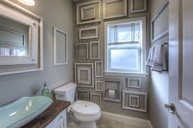 Wall Decor Made From Frames Bathroom Ideas Guest Bath Framed