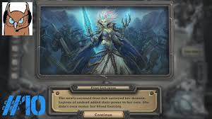 hearthstone knights of the frozen throne mage vs lich king 8